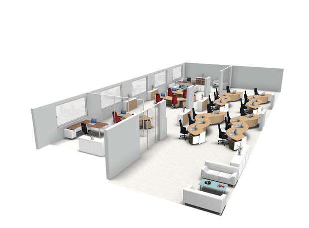 Corporate int for Virtual office design